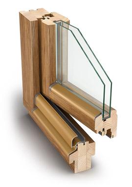 Drevné okná Profil IV 68 Standard